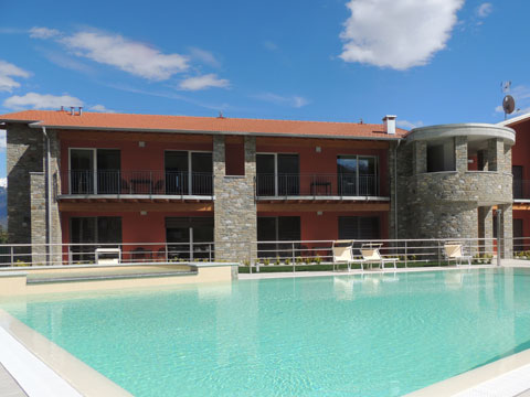 Picture of Lake Como apartment Paradiso_Sasso_Pelo_Gravedona_15_Pool
