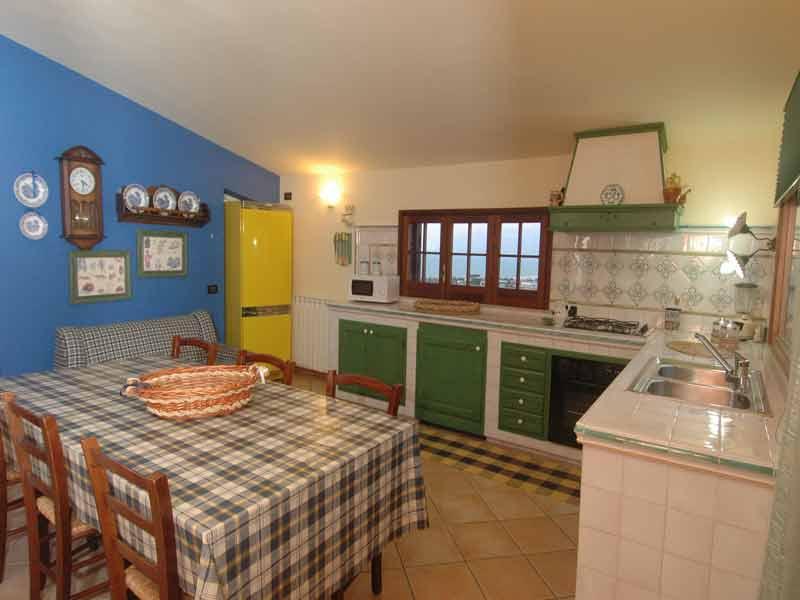 Bilder Villa Patric_1_Castellammare_del_Golfo_35_Kueche in Sizilien Nordküste Sizilien