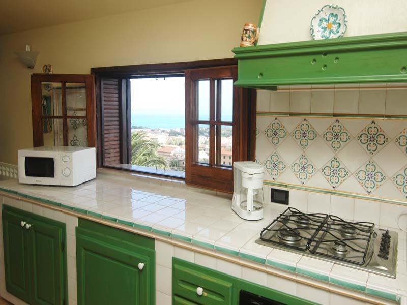 Bilder Villa Patric_1_Castellammare_del_Golfo_36_Kueche in Sizilien Nordküste Sizilien