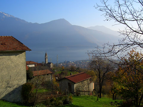 Bilder Rustico Comer See Paula_Gravedona_60_Landschaft in Lombardei
