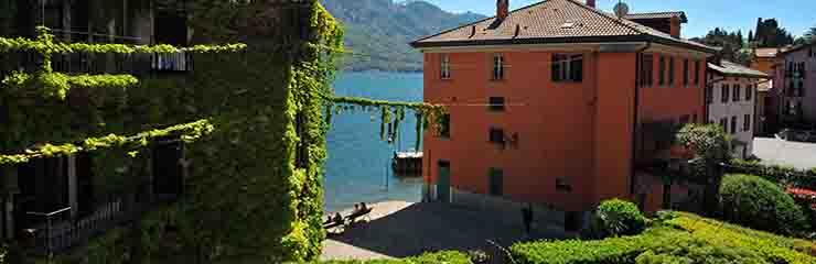 Appartamento lago di como casa pescallo primo piano for Lotti in piano casa fronte lago