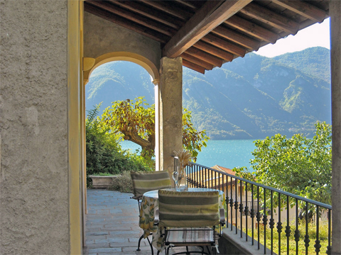 Picture of Lake Como apartment Pradera_Mezzegra_10_Balkon