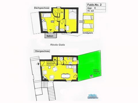 Foto van Appartement  Ribolla_Gravedona_70_Plan