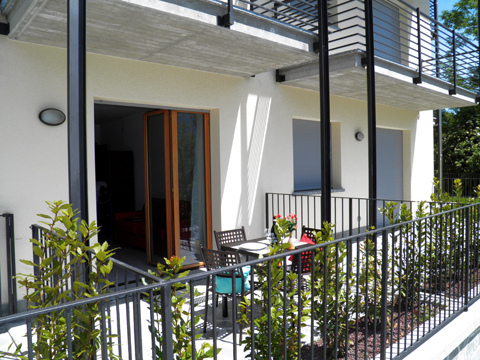 Bilder Ferienhaus Riva_Sole_Gera_Lario_11_Terrasse in Comer See Lombardei