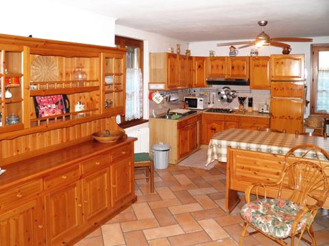 Bilder Ferienhaus Comer See Romantica_Rezzonico_35_Kueche in Lombardei