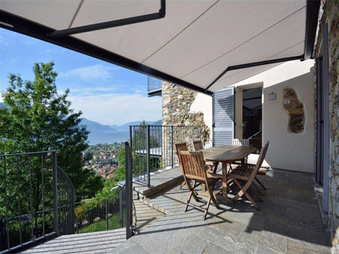 Bilder Rustico Comer See Rosina_Gravedona_11_Terrasse in Lombardei