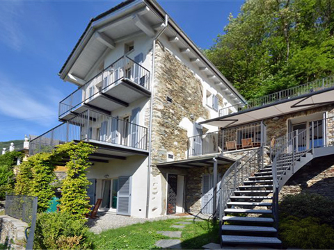 Bilder Rustico Comer See Rosina_Gravedona_55_Haus in Lombardei