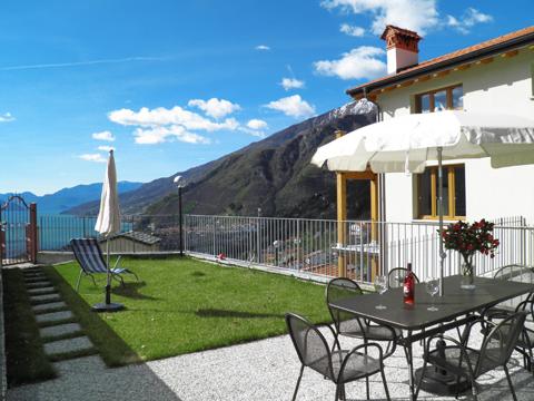 Bilder Ferienwohnung Comer See Sandra_Gravedona_20_Garten in Lombardei