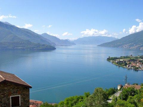 Bilder Ferienwohnung Sangiovese_Gravedona_26_Panorama in Comer See Lombardei