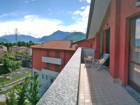 Bild von Ferienwohnung am Comer See Silvana_Dervio_10_Balkon
