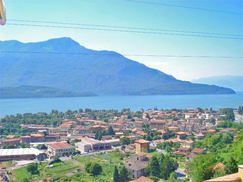 Bilder Ferienwohnung Comer See Silvia_Vercana_25_Panorama in Lombardei