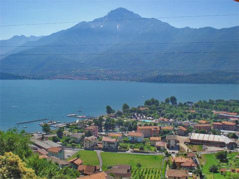 Bilder Ferienwohnung Comer See Silvia_Vercana_60_Landschaft in Lombardei