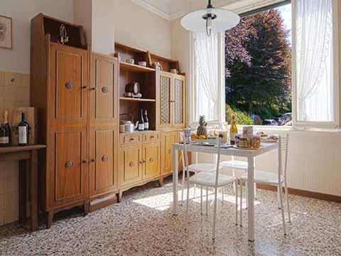 Bilder Ferienwohnung Comer See Sogno_Bellagio_35_Kueche in Lombardei