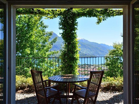 Picture of Lake Como apartment Tony_Gravedona_10_Balkon