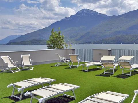 Bilder Hotel Comer See Tullio_Gravedona_11_Terrasse in Lombardei