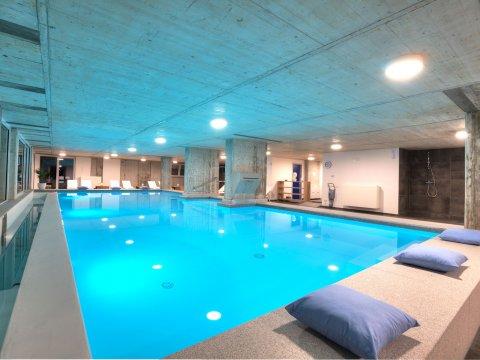 Bilder Wellness Ferienwohnung Comer See Valarin_Napoli_Vercana_15_Pool in Lombardei