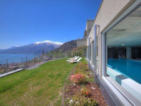 Bilder Ferienwohnung Valarin_Roma_Vercana_60_Landschaft in Comer See Lombardei