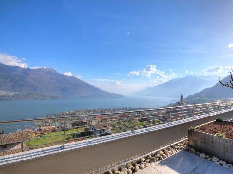 Bilder Wellness Ferienwohnung Comer See Valarin_Verona_Vercana_25_Panorama in Lombardei