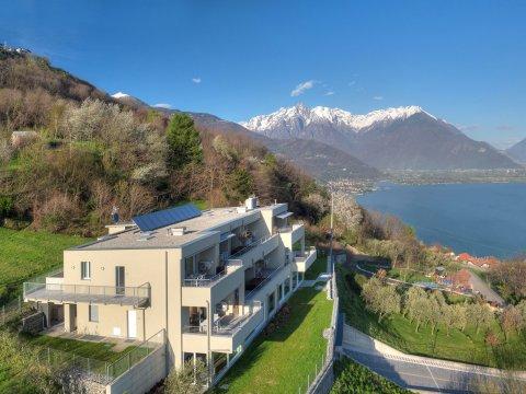 Bilder Wellness Ferienwohnung Comer See Valarin_Verona_Vercana_55_Haus in Lombardei