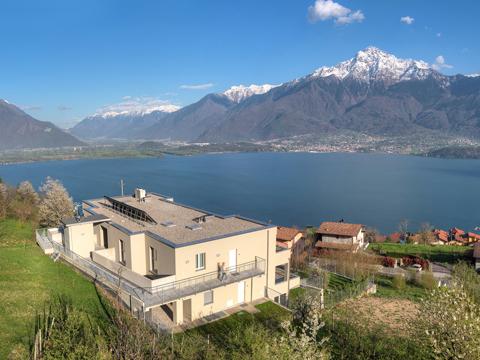 Bilder Wellness Ferienwohnung Comer See Valarin_Verona_Vercana_56_Haus in Lombardei