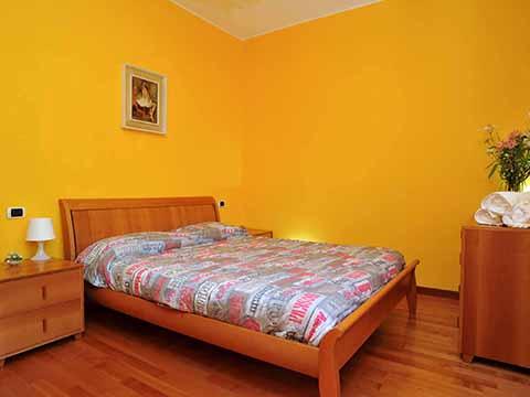 Bilder Villa Comer See Villa_parco_Bellagio_40_Doppelbett-Schlafzimmer in Lombardei