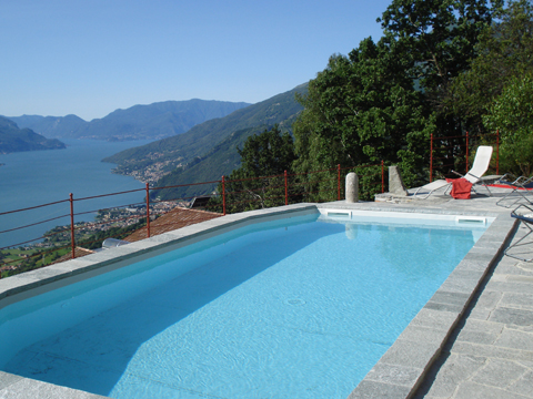 Picture of Lake Como apartment Zertin_Typ_1_Peglio_15_Pool