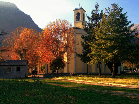 Picture of Lake Como guide and tourist informations about Dongo