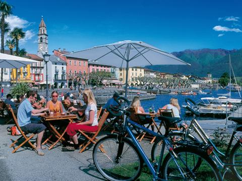 Foto van Comomeer vakantie plaats Lago Maggiore