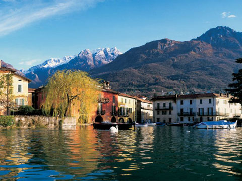 Picture of Lake Como guide and tourist informations about Mandello del Lario