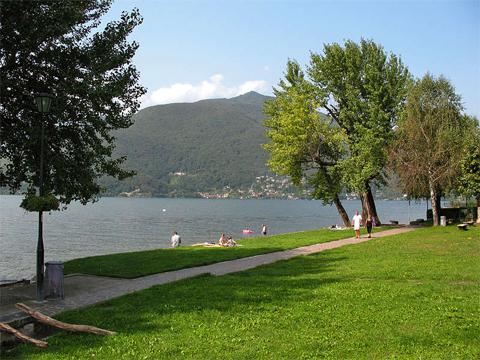 Foto van Comomeer vakantie plaats Maccagno