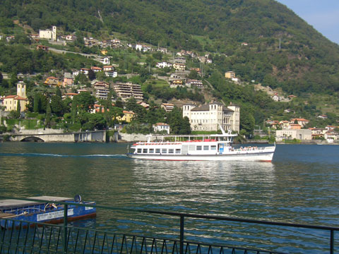 Picture of Lake Como guide and tourist informations about Gravedona