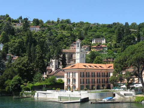 Picture of Lake Como guide and tourist informations about Meina