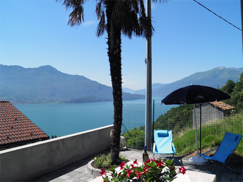 Bild von Ferienhaus in Italien Lake Como Apartment in Montemezzo Lombardy
