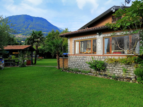 Bild von Ferienhaus in Italien Lake Como Villa in Domaso Lombardy