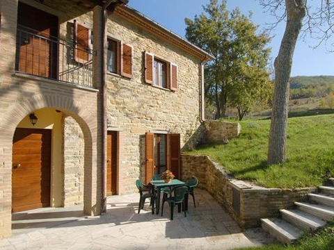 Bild von Ferienhaus in Italien Adria Ferienhaus in Apecchio Marken