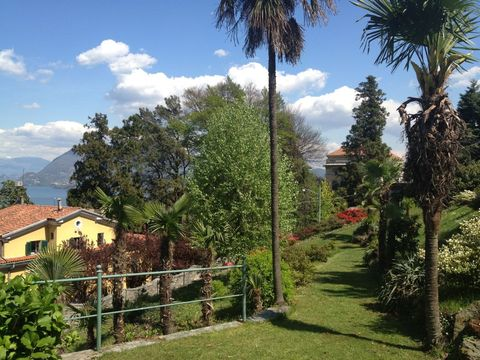 Bild von Ferienhaus in Italien Lago Maggiore Ferienwohnung in Stresa Piemont