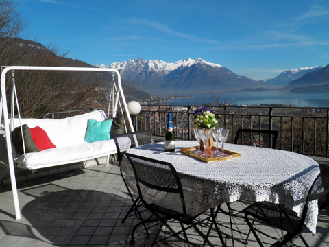 Bild von Ferienhaus in Italien Lake Como Holiday home in Dongo Lombardy