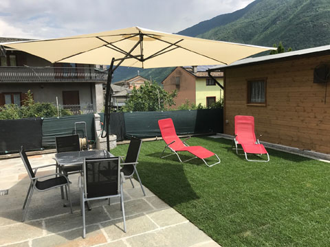 Bild von Ferienhaus in Italien Lake Como Holiday home in Villa di Tirano Lombardy