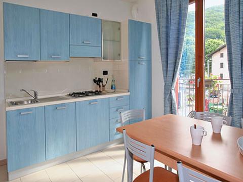 Bild von Ferienhaus in Italien Lake Como Apartment in Sorico Lombardy