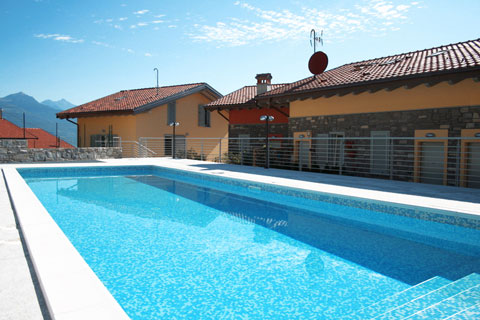 Bild von Ferienhaus in Italien Comomeer Appartement in Pianello del Lario Lombardy