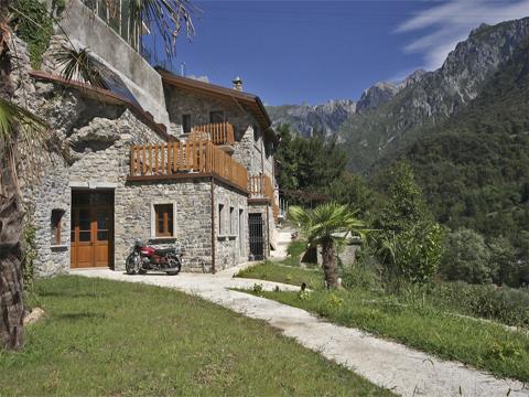 Bild von Ferienhaus in Italien Lago di Como Agriturismo in Mandello del Lario Lombardia
