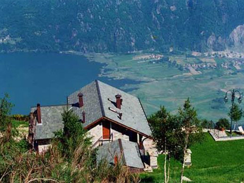 Bild von Ferienhaus in Italien Lac de Côme Agriturismo Hôtel in Sorico Lombardie