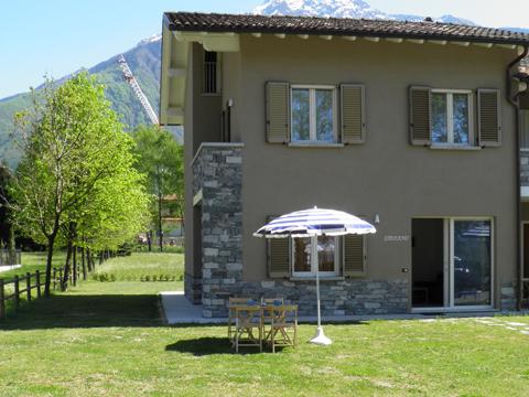 Bild von Ferienhaus in Italien Comer See Ferienwohnung in Colico Lombardei