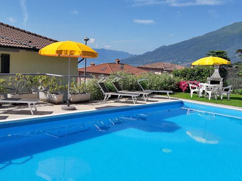 Bild von Ferienhaus in Italien Lago di Como Appartamento in Domaso Lombardia