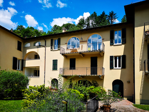 Bild von Ferienhaus in Italien Lago di Como Appartamento in Carlazzo Lombardia