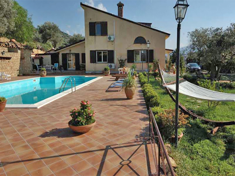 Bild von Ferienhaus in Italien Sizilien Nordküste Villa in Pettineo Sizilien