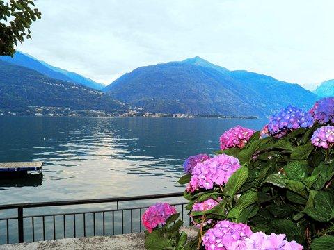 Bild von Ferienhaus in Italien Comer See Ferienwohnung in Cremia Lombardei