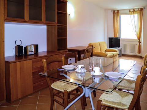 Bild von Ferienhaus in Italien Lago di Como Appartamento in Cremia Lombardia