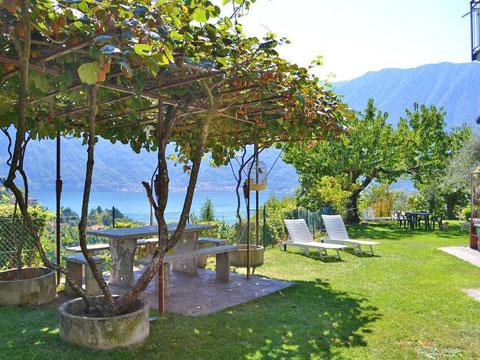 Bild von Ferienhaus in Italien Lac de Côme Appartement in Ossuccio Lombardie