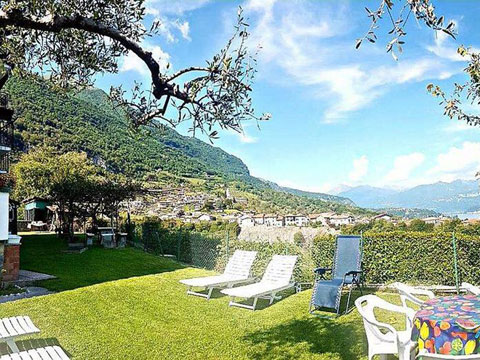 Bild von Ferienhaus in Italien Lago di Como Appartamento in Ossuccio Lombardia
